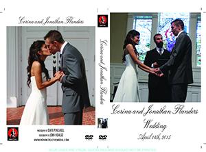Corina and Jonathan Wedding DVD Cover