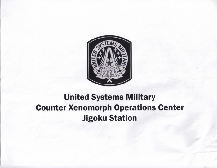 Storyboard for Introduction to Counter Xenomorph Operations