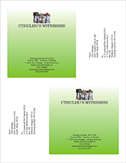 Cthulhu's Witnesses DVD Label